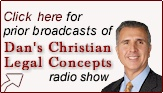 Christian Lawyer - Daniel Buttafuoco's radio show called Christian Legal Concepts